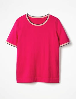 Carnival Pink Favourite Knitted Top