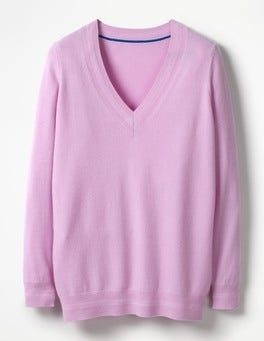 Rosebay Cashmere Relaxed V-neck Jumper