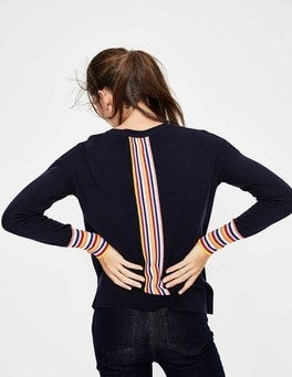Navy Cassandra Sweater