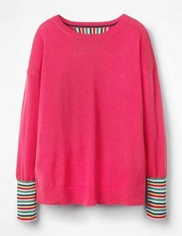 Carnival Pink Cassandra Sweater