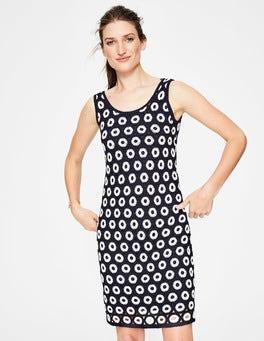 Navy/Ivory Elana Dress