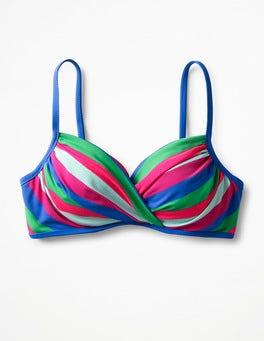 Multi Stripe Alacati Cup-Size Bikini Top