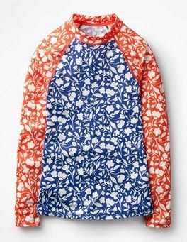 Floral Hotchpotch Rash Guard