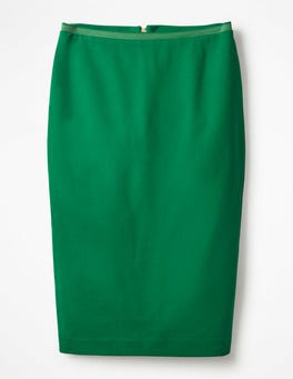 Sap Green Hampshire Ponte Skirt