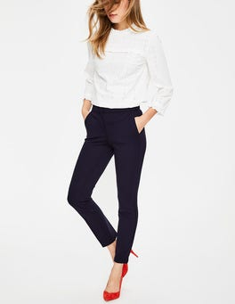 Navy Hampshire 7/8 Trousers