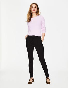 Black Hampshire Skinny Trousers