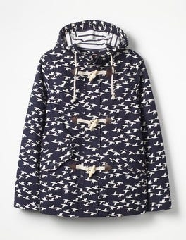Navy, Birds Whitby Waterproof Jacket