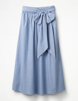 Chambray Kiera Skirt