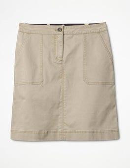 Sand Chino Skirt