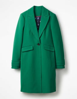 Sap Green Aileen Coat