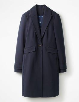 Navy Aileen Coat