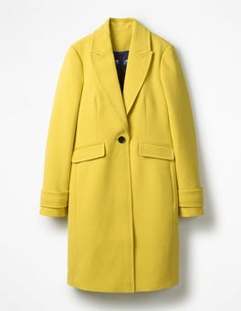 Mimosa Yellow Aileen Coat