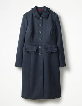 Navy Lena Coat