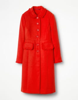 Red Pop Lena Coat