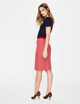 Textured Modern Pencil Skirt
