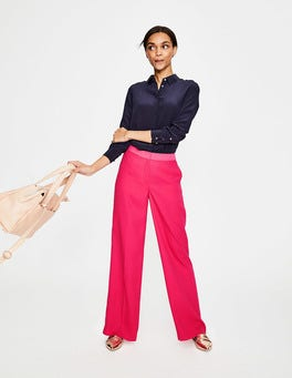 Carnival Pink Marlin Wide Leg Pants