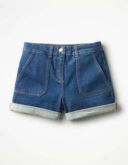 Mid Indigo Karin Shorts