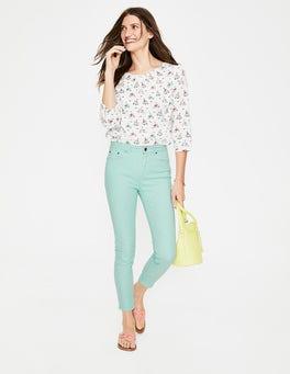 Ripple Cropped Soho Skinny Jeans