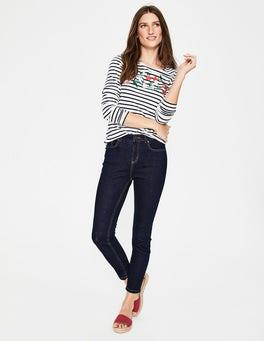 Rinse Indigo Cropped Soho Skinny Jeans