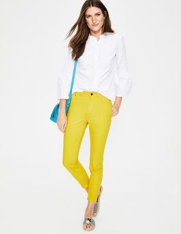 Mimosa Yellow Cropped Soho Skinny Jeans