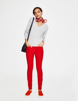 Red Pop Soho Skinny Jeans