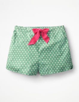 Wasabi, Spot on Spot Small Suzie PJ Shorts