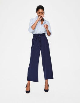 Paperbag Crop Trousers
