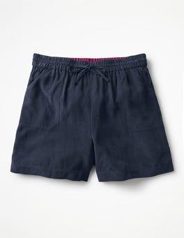 Navy Talia Shorts