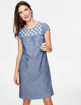 Chambray - Blue Rosalind Dress