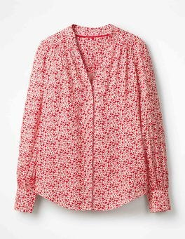 Post Box Red Meadow Annora Blouse