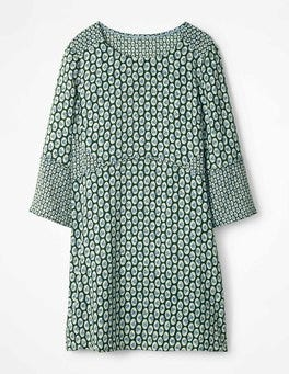 Hunter Green Cameo Floral Edna Tunic