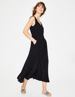 Black Idelle Midi Dress