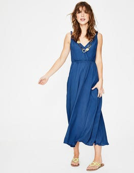 Klein Blue Idelle Midi Dress