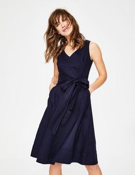 Navy Jade Dress