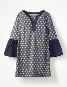 Navy Spot on Spot Jodie Kaftan