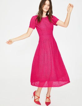Carnival Pink Julieta Lace Dress
