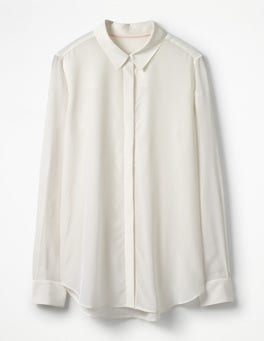 Ivory The Silk Shirt