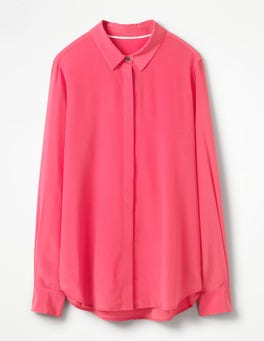 Hibiscus The Silk Shirt