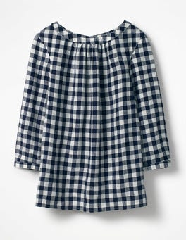 Navy Gingham  Katie Top