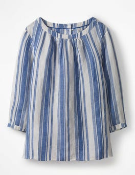 Meadow Spring Stripe Katie Top