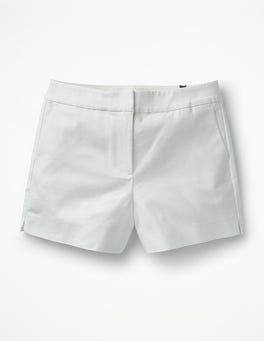 White Richmond Shorts