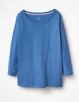 Soft Blue Supersoft Oversized Tee