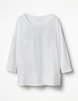 White Supersoft Oversized Tee