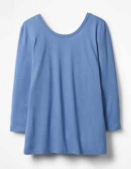Soft Blue Supersoft Ballet Back
