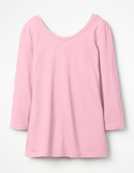 Soft Peony Supersoft Ballet Back Tee