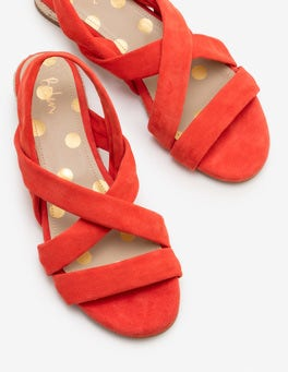 Red Pop Ava Espadrille Sandals