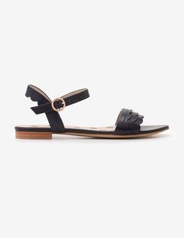 Navy Ruth Sandals