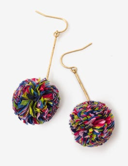 Henrietta Pom Earrings