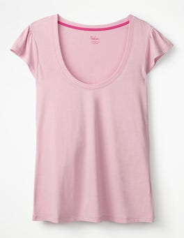 Soft Peony Supersoft Flutter Tee