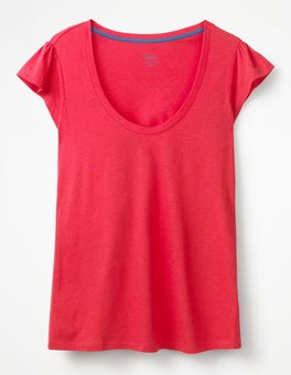 Hibiscus Supersoft Flutter Tee
